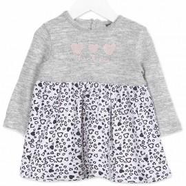 Losan sukienka dla dziewczynki kolor szary 828-7016AD
