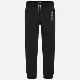 Mayoral 705-10 Spodnie dresowe chłopięce kolor czarny
