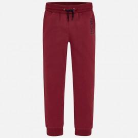 Mayoral 705-13 Spodnie dresowe chłopięce kolor bordo