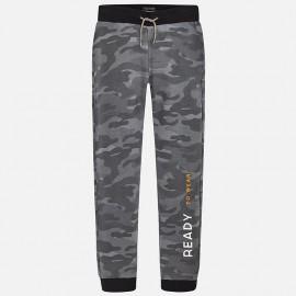 Mayoral 7526-85 Spodnie dresowe chłopięce moro kolor szary