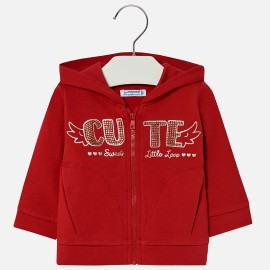 Mayoral 2499-92 Bluza dziewczęca kolor czerwony