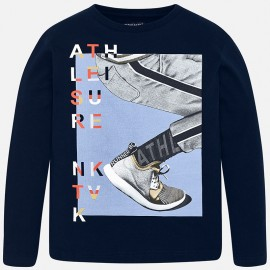 Mayoral 7010-81 Koszulka chłopięca kolor Granatowy