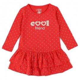 Losan sukienka dla dziewczyny kolor czerwony 826-7032AD