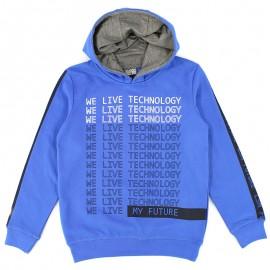 Losan bluza chłopięca kolor niebieski 823-6658AA