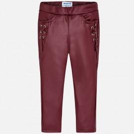 Mayoral 4544-23 Spodnie dziewczęce kolor malinowy