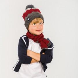 Pupill czapka chłopięca ANDREAS kolor bordo