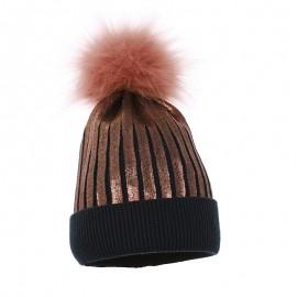 Pupill czapka dziewczęca JASSICA kolor granat
