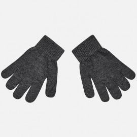 Mayoral 10476-51 rękawiczki dziecięce kolor szary