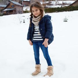Mayoral 577-39 Spodnie dziewczęce kolor ciemny jeans
