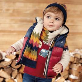 Mayoral 2460-30 Kamizelka chłopięca dwustronna kolor Wiśnia