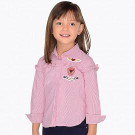 Mayoral 4134-49 Bluzka dziewczęca kolor malina
