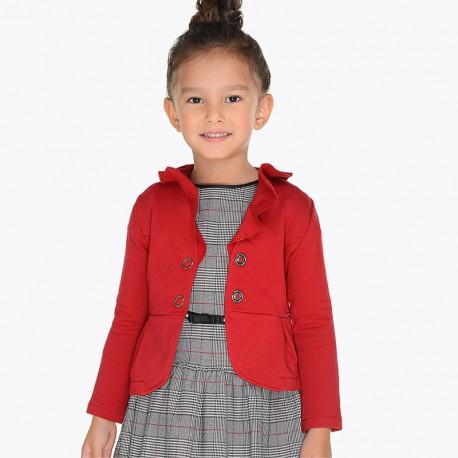 Mayoral 4400-10 Żakiet dla dziewczynki kolor czerwony