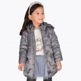 Mayoral 4429-11 Kurtka dziewczęca kolor ciemny brąz