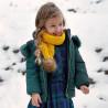 Mayoral 4435-11 Kurtka dziewczęca dwustronna kolor granat