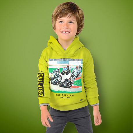 Mayoral 4440 30 Bluza chłopięca kolor zielony