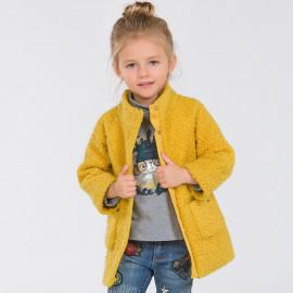 Mayoral 4498-44 Płaszcz dziewczęcy kolor żółty
