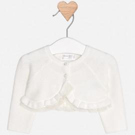 Mayoral 2310-46 Sweter bolerko kolor biały