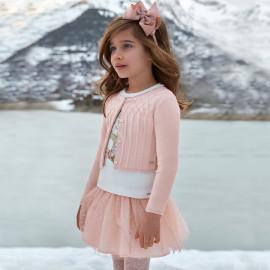 Mayoral 4902-41 Spódnica dziewczęca tiulowa kolor róż