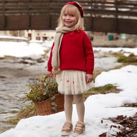 Mayoral 4904-81 Spódnica dziewczęca kolor beż