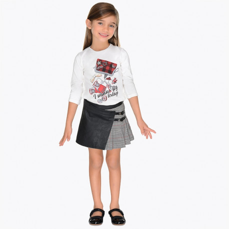 Mayoral 4916-81 Spódnica dziewczęca kolor Czarny