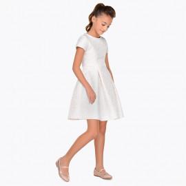 Mayoral 7928-52 Sukienka dziewczęca kolor Szampan