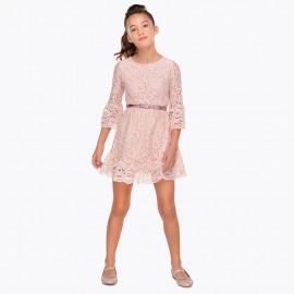 Mayoral 7930-88 Sukienka dziewczęca kolor różowy