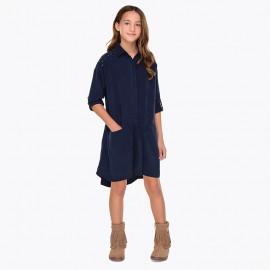 Mayoral 7946-21 Sukienka dziewczęca kolor granat