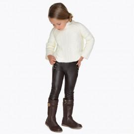 Mayoral 4544-22 Spodnie dziewczęce kolor brąz