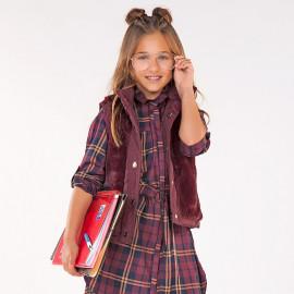 Mayoral 7948-64 Sukienka dziewczęca kolor bordo