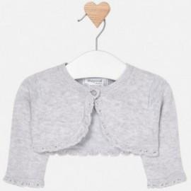 Mayoral 318-21 Sweter dziewczęcy kolor srebrny