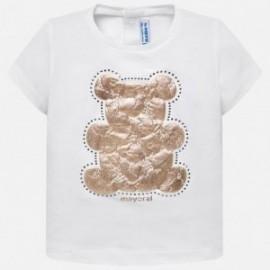 Mayoral 105-53 Koszulka dziewczęca kolor Biały