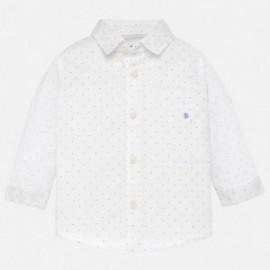 Mayoral 117-29 Koszula chłopięca kolor biały