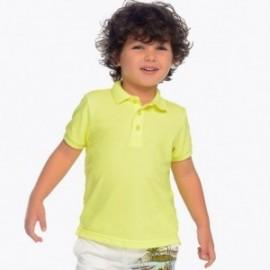 Mayoral 150-10 Koszulka chłopięca polo kolor żółty