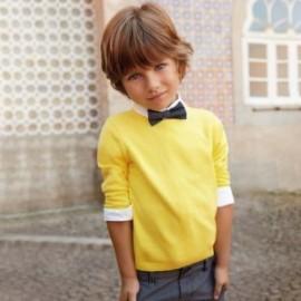 Mayoral 311-16 Sweter chłopięcy kolor żółty