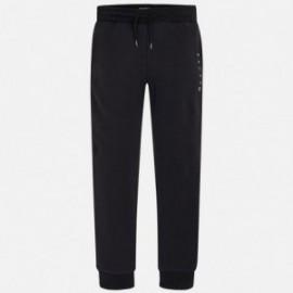 Mayoral 744-10 Spodnie dresowe chłopięce kolor czarny
