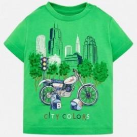 Mayoral 1020-37 Koszulka chłopięca kolor zielony