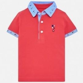 Mayoral 1114-49 Polo chłopięce kolor czerwony