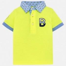 Mayoral 1116-47 Polo chłopięce kolor żółty