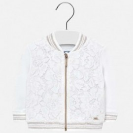 Mayoral 1421-1 Bluza dziewczęca kolor biały