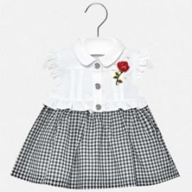 Mayoral 1933-31 Sukienka dziewczęca kolor biały