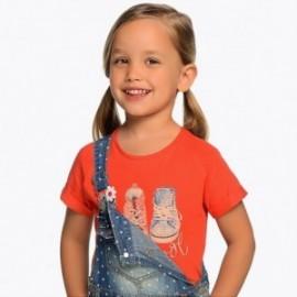 Mayoral 3004-80 Koszulka dziewczęca kolor czerwony