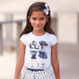 Mayoral 3011-10 Koszulka dziewczęca kolor Granat