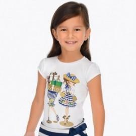Mayoral 3011-11 Koszulka dziewczęca kolor Marynarski