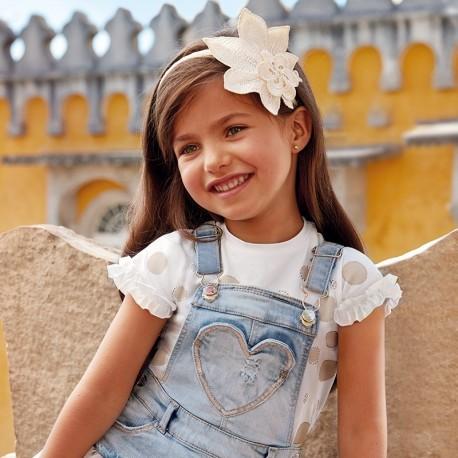 Mayoral 3012-70 Koszulka dziewczęca kolor złoty