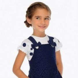 Mayoral 3012-69 Koszulka dziewczęca kolor Granat
