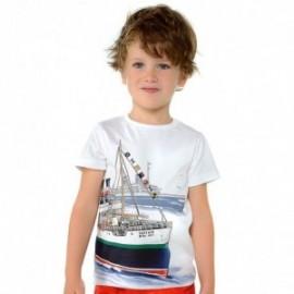 Mayoral 3024-72 Koszulka chłopięca kolor biały