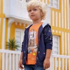 Mayoral 3026-87 Koszulka chłopięca kolor pomarańcz