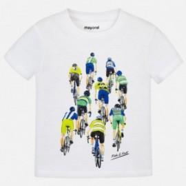 Mayoral 3028-64 Koszulka chłopięca kolor biały