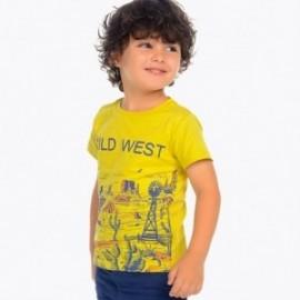 Mayoral 3039-54 Koszulka dla chłopaka kolor oliwka