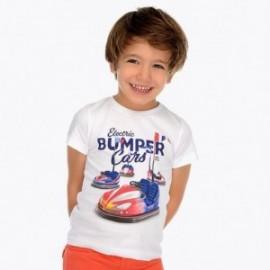 Mayoral 3043-57 Koszulka dla chłopaka kolor biały